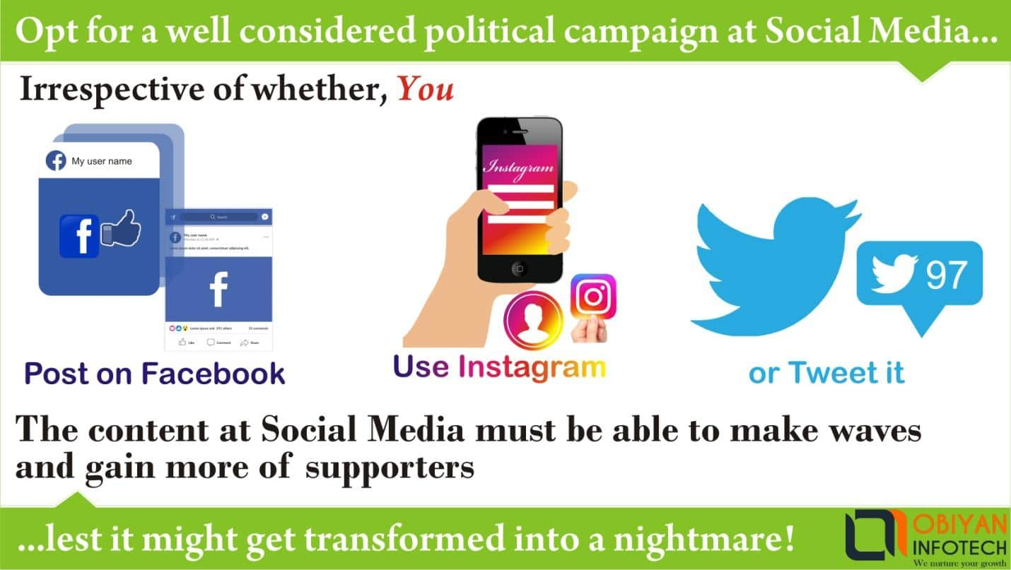 How to make the most of the social media for a political campaign?