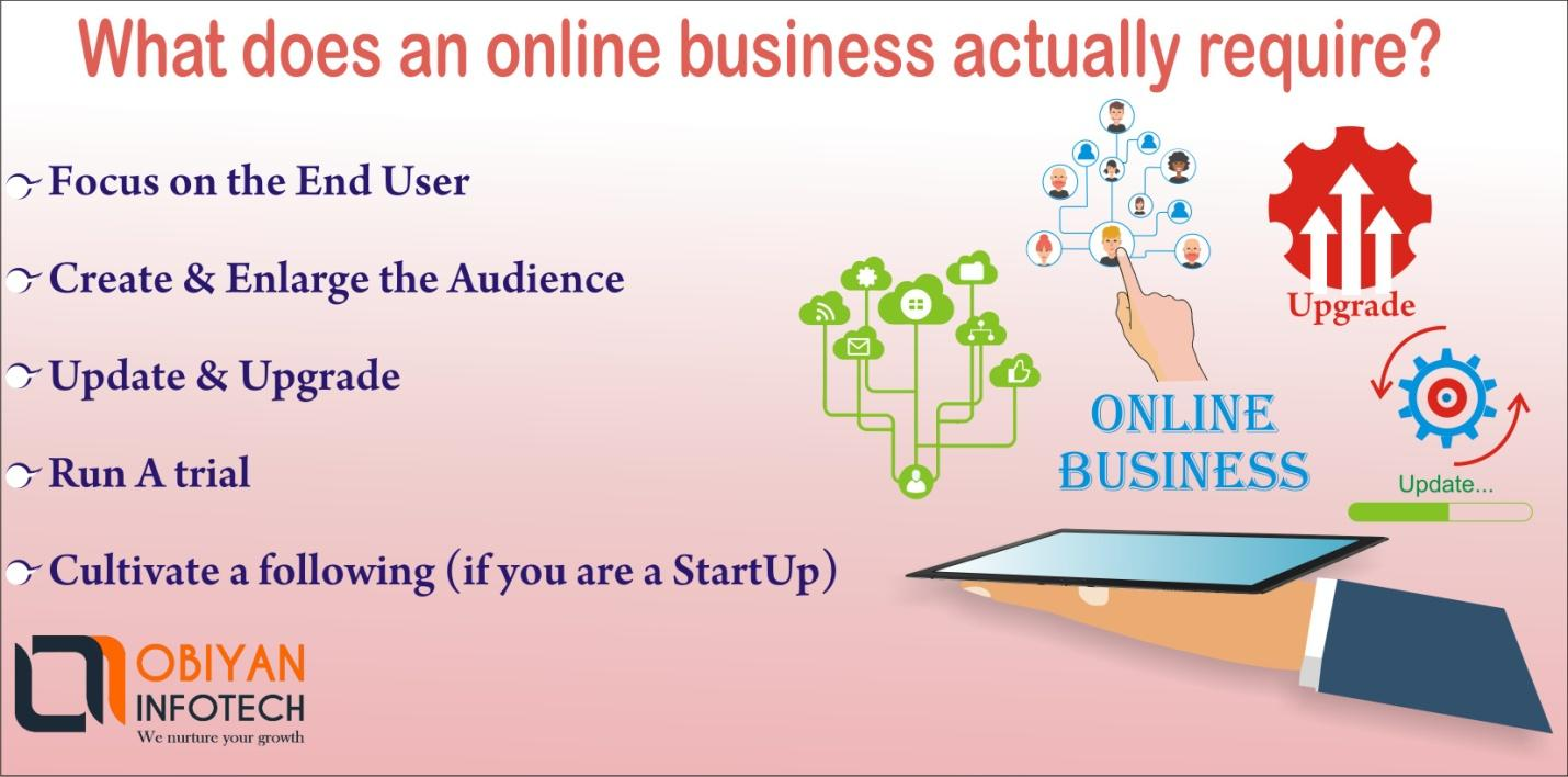 Tips for Building a Startup Business Online